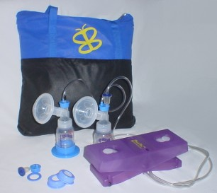 VersaPed® breast pump w/ BaileyMed flange set